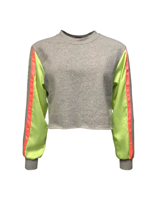 Finish Line Cropped Sweater
