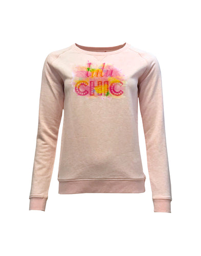 Graffiti Sweater Pink