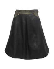 Lightning Skirt Black