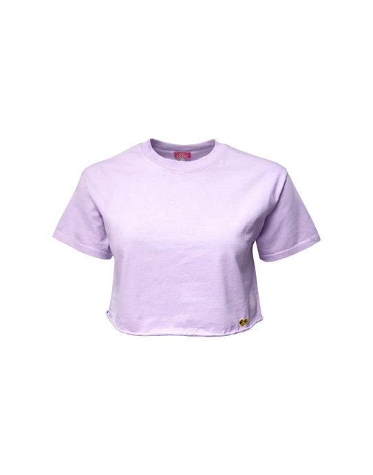Lilac Breeze Cropped T-shirt
