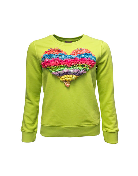 Love Sweater Lime
