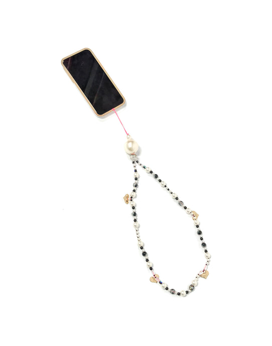 Candy Phone Strap Black