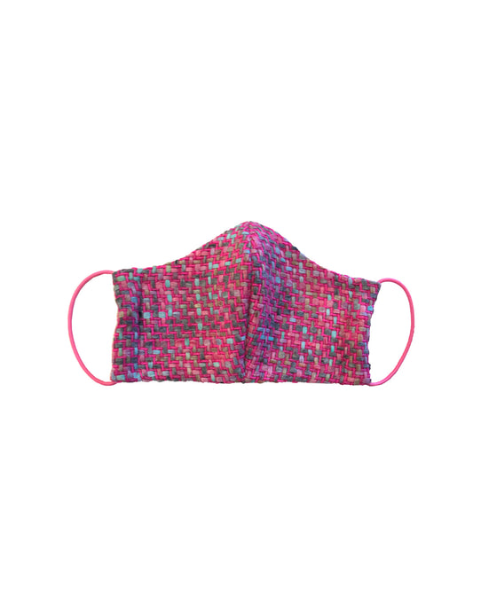 Fashion Mask pink tweed