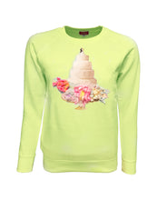 Romance Yellow Green Sweater