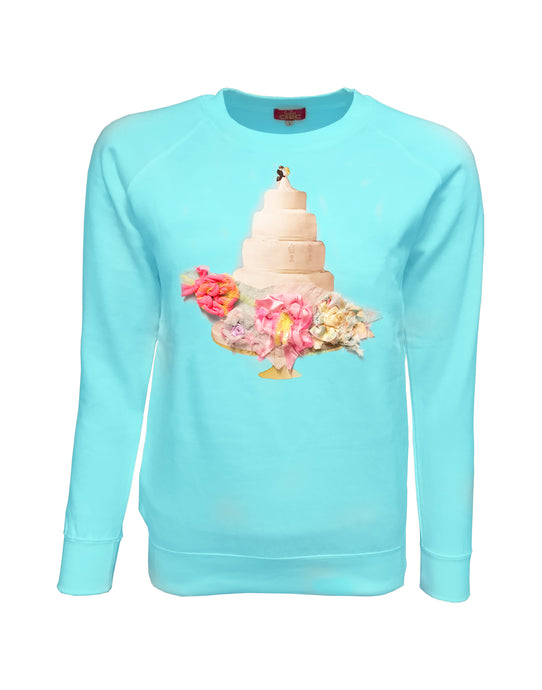 Romance Turquoise Sweater