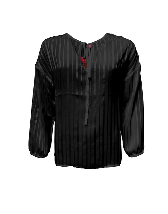 Sapo Blouse Black