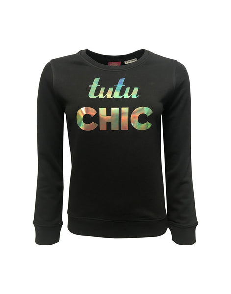 Tutu Chic Sweater Black