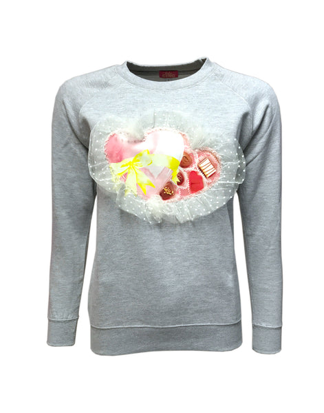 Box of Chocolates Sweater Grey