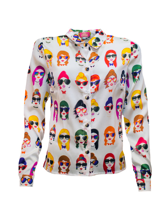 Faces Blouse