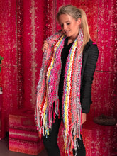 Knitted Lively Scarf