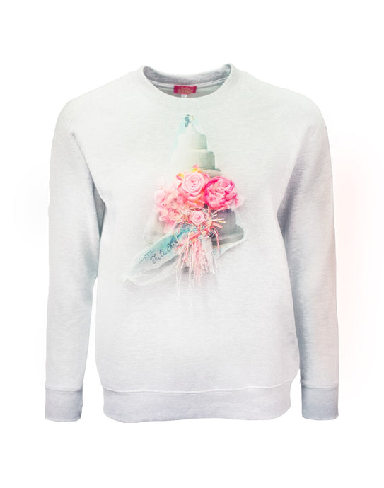 Romance White Sweater