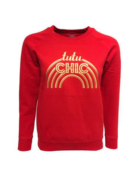 Halo Sweater Red