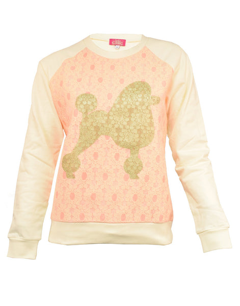 Snoopy Sweater Pink