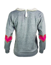 Twiggy Sweater Grey/Pink