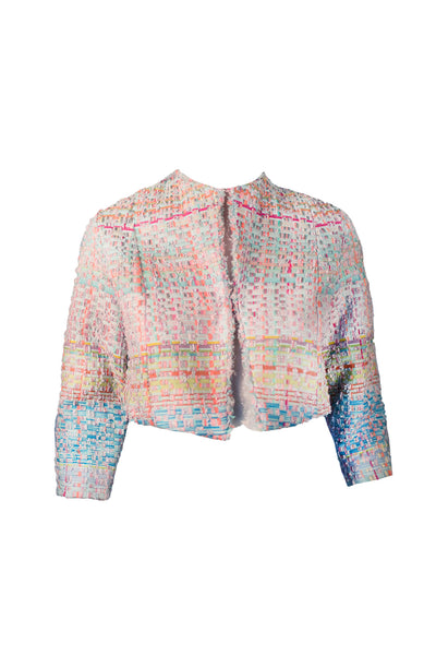 Violet Jacket Multicoloured