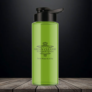 Grean Cleanse 32oz Water Bottle -  Your New Best Friend