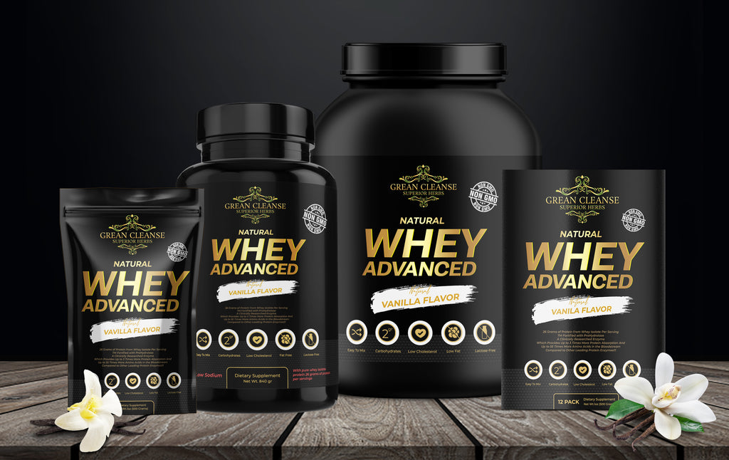 Grean Cleanse Whey Advanced Protein - Vanilla