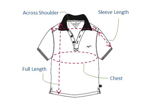 Boys Polo Size Guide