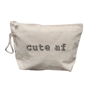 Cute AF Makeup Bag