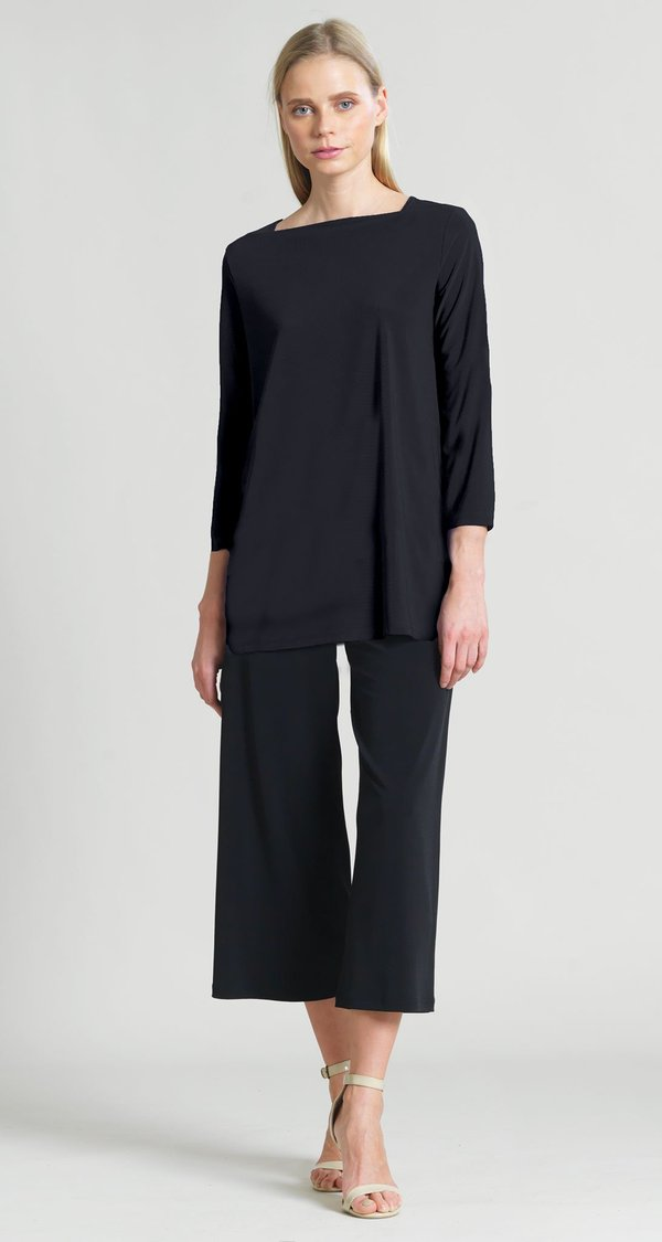 Rectangular Boat Neck Tunic