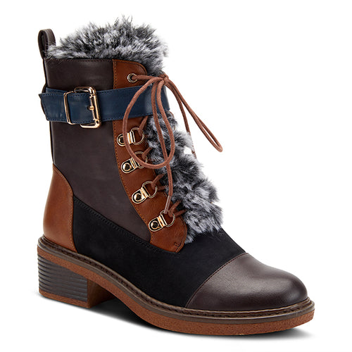 Hilvia Lace up Bootie