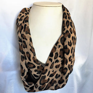 Chiffon Magnetic Scarf - Oblong