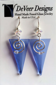 DeVeer Fused Glass Earrings
