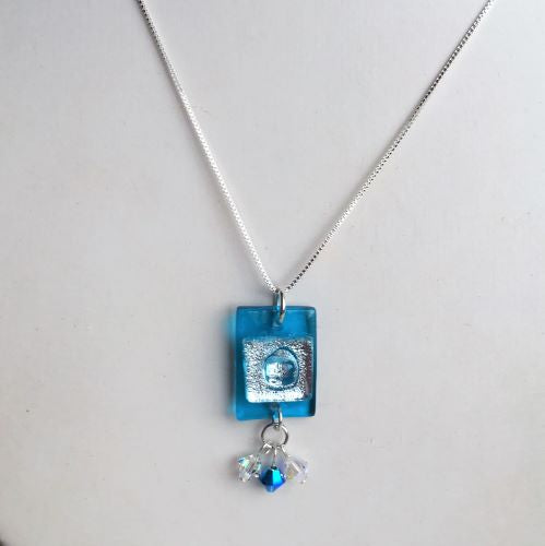 DeVeer Fused Glass Necklace