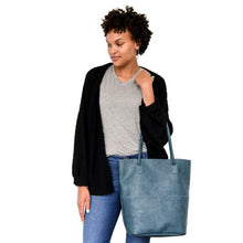 Load image into Gallery viewer, Kelly Shoulder Tote - Front Pockets