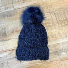 Load image into Gallery viewer, Chenille Pom Pom Hat