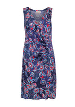 Load image into Gallery viewer, Ruched Waist Floral Dress