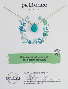 Soulku Soul-Full Teardrop Necklace