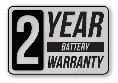 2 year golf trolley lithium battery warranty
