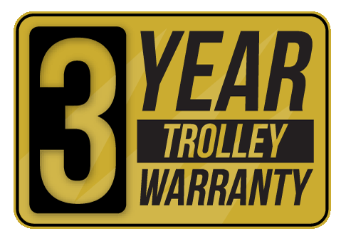 3 year golf trolley warranty