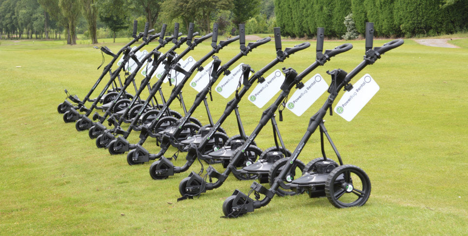 PowerBug Electric Golf Trolley Rental Fleet