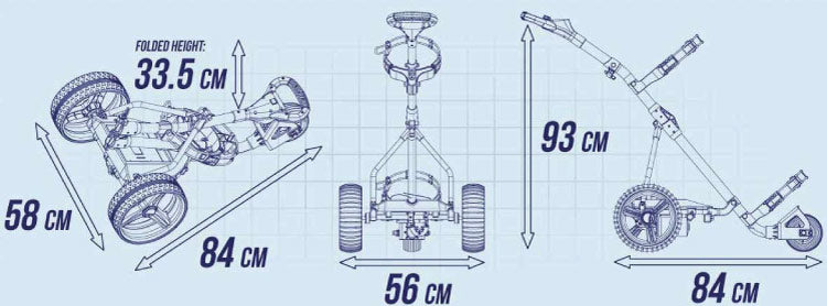 golf trolley specifications