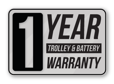 electric golf trolley warranty