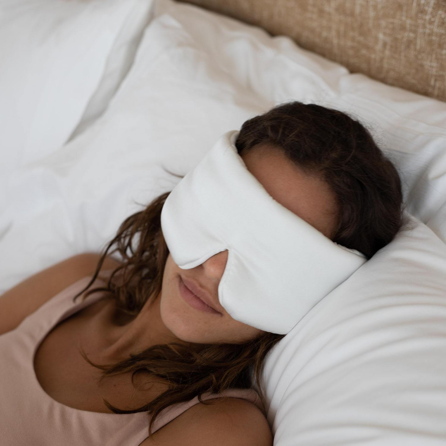 Weighted Silk Eye Mask