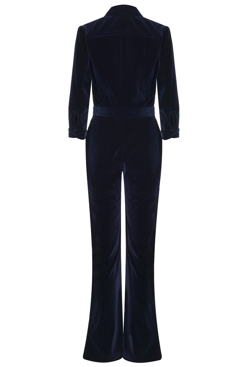 MARGO Velvet Jumpsuit - Rock The Jumpsuit