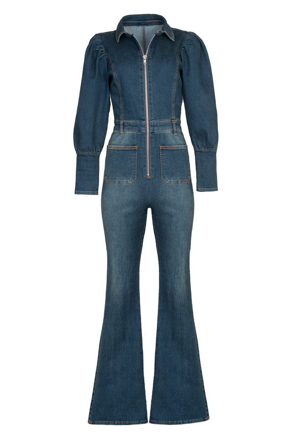 DENIM DREAM JUMPSUIT - Rock The Jumpsuit