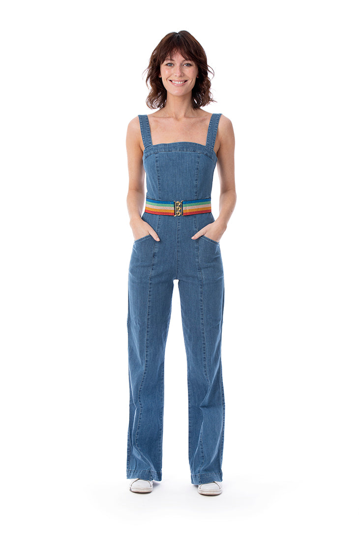 ZIPPY RAINBOW BELT - Rock The Jumpsuit