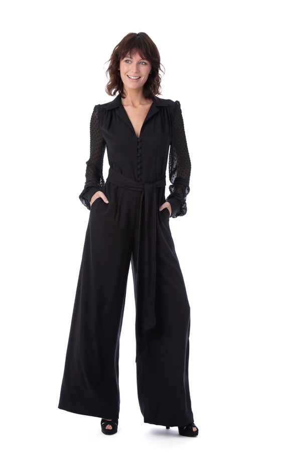 COCO Timeless Crepe Viscose Jumpsuit - Rock The Jumpsuit
