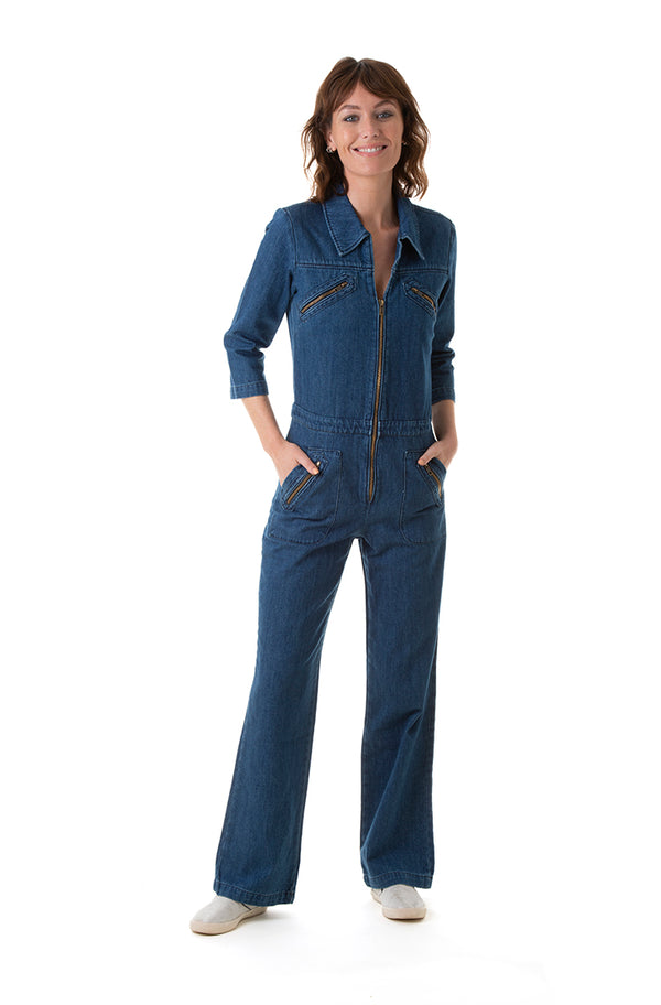 ZIGGY denim Boilersuit - Rock The Jumpsuit
