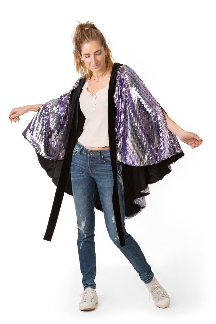 THE DREAM SEQUIN CAPE - Rock The Jumpsuit
