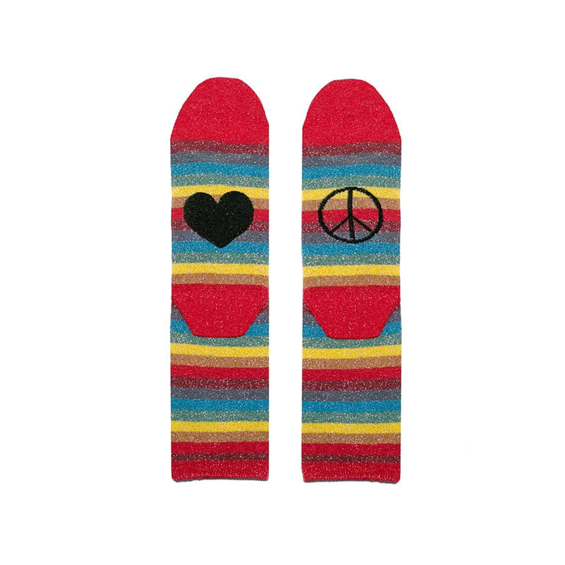 Peace & Love Socks - Rock The Jumpsuit