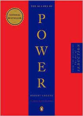 "48 LAWS OF POWER"" by Robert Greene"