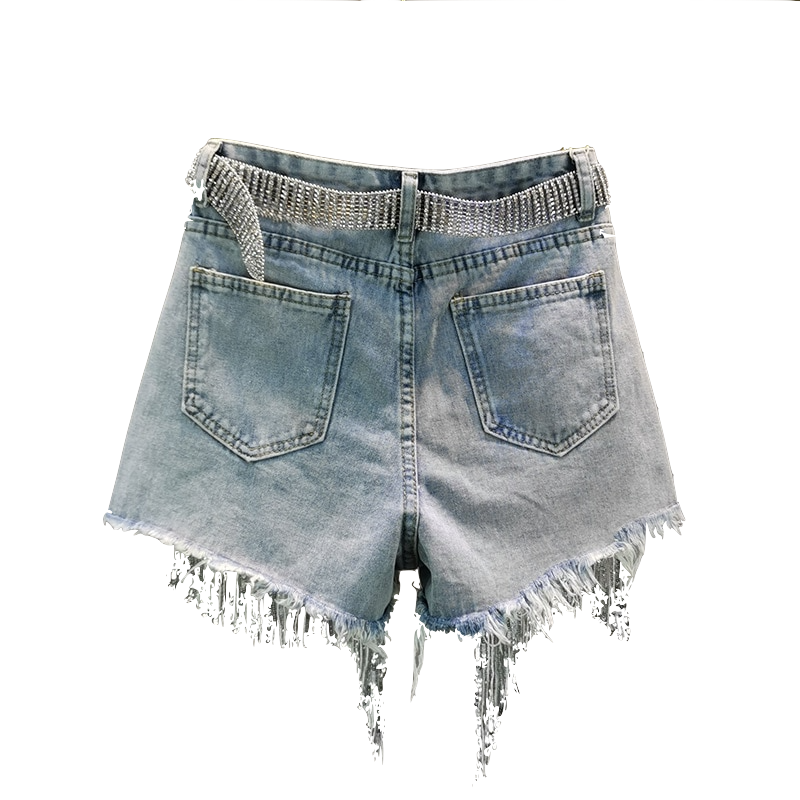 PEARL AND GLITTER SHORTS