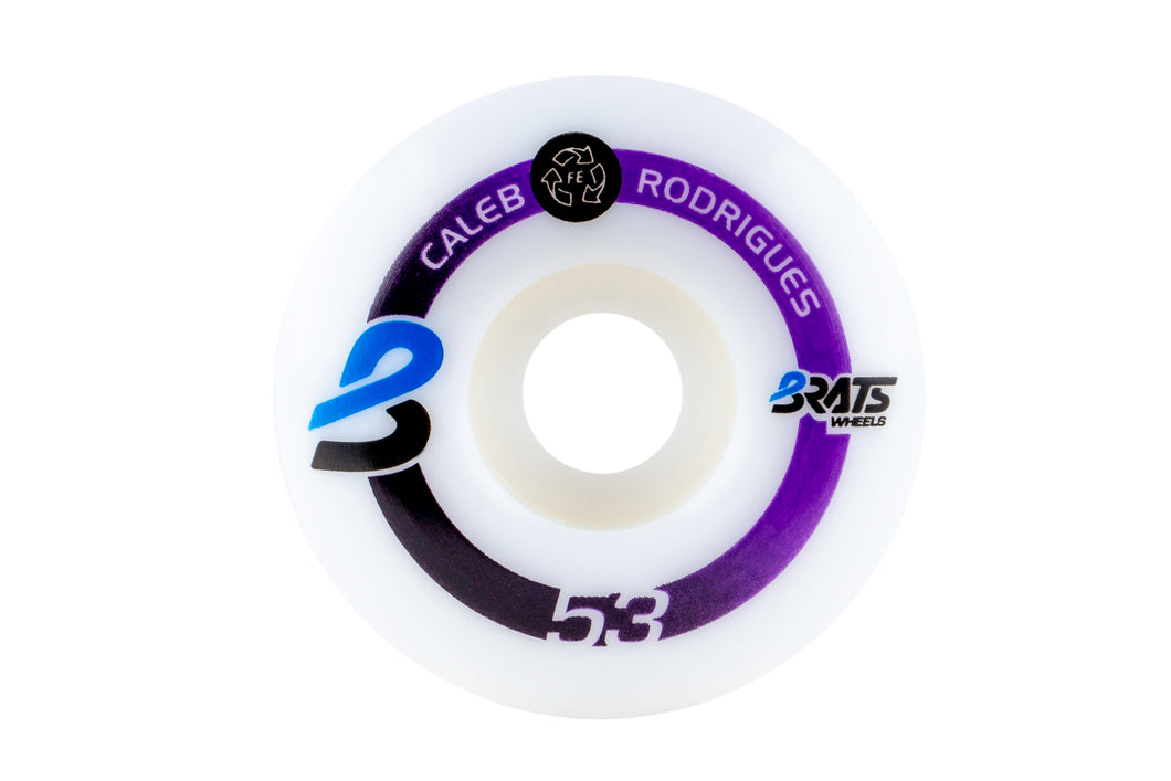 #6 Caleb Rodrigues Brats Wheels 53mm 101a