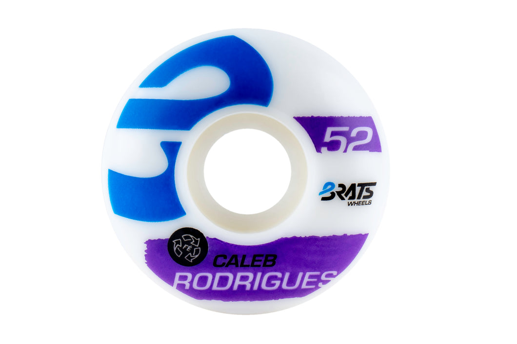 #7 Caleb Rodrigues Brats Wheels 52mm 101a