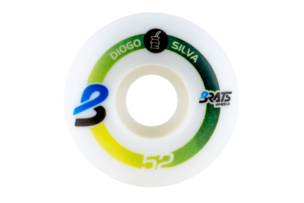 #3 Diogo Silva Brats Wheels 52mm 101a